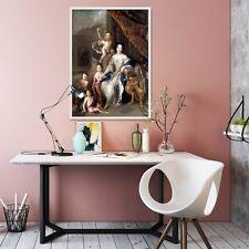 3D Lady And Children 2 Framed Poster Home Decor Print Painting Art AJ WALLPAPER