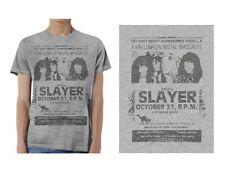 SLAYER - Metal Massacre - T SHIRT S-M-L-XL Brand New - Official T Shirt