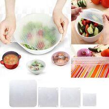 Silicone Seal Cover Reusable Plastic Wrap Vacuum Food Fresh Wrap Gadget Kitchen