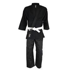 Playwell judo blanchis Noir étudiants adultes costumes uniforme kimono en coton SIG
