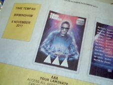 TINIE TEMPAH TOUR 2011 - VIP Badge details + Ticket