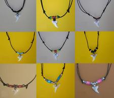 Dente di Squalo Collana Surfista Artigianale Shark Tooth Necklace Handmade +GIFT