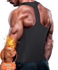 Men Workout Tank Top Vest Shirt Weight Loss Waist Body Shaper Sauna Compression