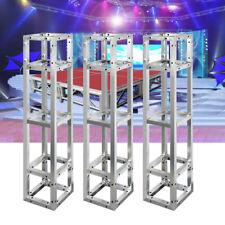 3 x Lightspace Truss Podium Totem 3M DJ Wedding Moving Head Stage Square Stands