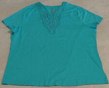 Women's Plus & Regular Size Lace Applique Tee/Top
