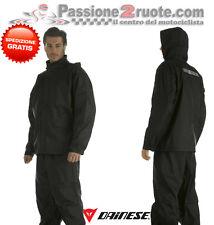 Antipioggia Dainese Bruxelles set giacca pantalone moto rain suit