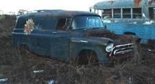 1957 Chevy Chevrolet Panel Borden's Dairy rat hot rod