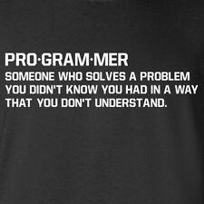 PROGRAMMER Coding tee Funny geek Programming dictionary Computer Nerd T-shirt