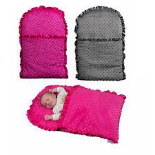 Zcush Baby Nap Mats Padded Newborn Boy Girl Cosy Warm On the Go Sleeping Bag