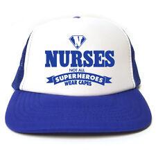 Blue ricollegamento Scrub//TEATRO Tappo//Cappello con fascia elastica i Medici Veterinari Infermiere//////Chefs//ODP