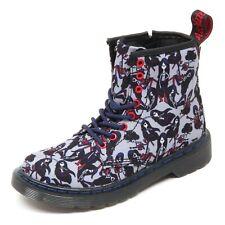 D3800 (without box) anfibio bimba DR. MARTENS viola cartoon boot shoe kid