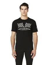 New! Lamborghini Motorsport Men's T-Shirt Pilota First Class Shield Design