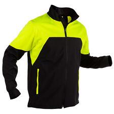 Forst-Extrem Jacke Beginner Schwarz-Gelb Forstjacke Arbeitsjacke Stretch Forst