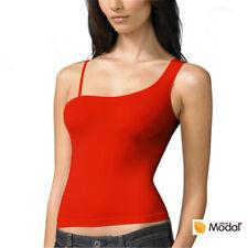 Women's Underwear Modal Sexy One Shoulder Shirt Top 8303