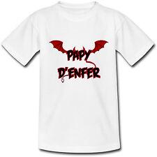 T-shirt Adulte Papy d'enfer - Humour pour super grand-père - du S au 2XL