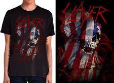 SLAYER - Blood Flag Skull - T SHIRT S-M-L-XL-2XL Brand New - Official T Shirt
