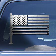 American Flag Scaffolder Decal Sticker - USA Scaffold Decal Scaffolding Sticker