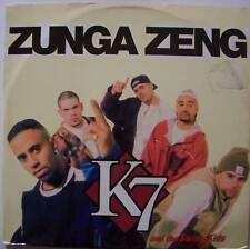 """K7 & THE SWING KIDS ~ Zunga Zeng ~ 12"""" Single PS"""