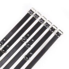 6Pcs Set Faux Leather Belts Full Body Bondage Straps Fetish Couple Fancy Toy New
