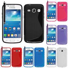 Etui Coque Housse TPU Silicone Samsung Galaxy Core Plus G3500/ Trend 3 G3502