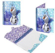 Disney Frozen Papelería Elsa Anna la OLAF: la OLAF A5 Notebook-Papel de escribir Binder