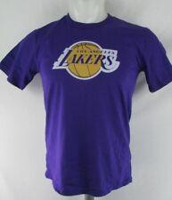 Los Angeles Lakers Youth Boys Fanatics Purple Short Sleeve T-Shirt NBA S M L XL