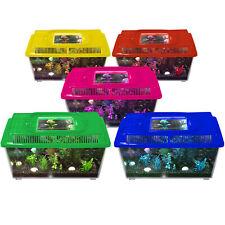 Plastic Fish Tank with Handle | Aquarium, Terrarium | Choose Size & Colour