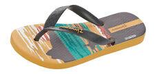 Ipanema Surfer Kids Flip Flops / Sandals - Grey Yellow