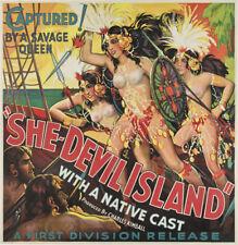 She-Devil Island Irma ls mala movie poster print