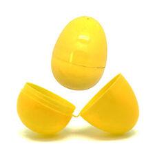 Yellow Plastic Filler Eggs for Easter Egg Hunt
