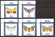 BRD 1992 Mi. Nr. 1602-1606 Postfrisch Eckrand 1 LUXUS! (6044)