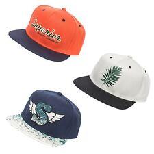 Jack & Jones Basecap Herren Snapback Cap Baseball Kappe Vintage Orange Blau Grau