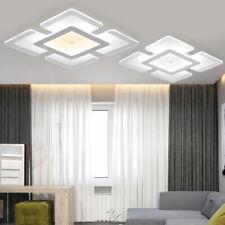 Acrylic LED Ceiling Light Home Lamp Modern Elegant Living Room Bedroom Square US
