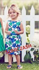 NWT Janie & Jack LAKESHORE GETAWAY 18 24 M 2 3 4 5 6 Floral Dress Blue Green $59