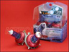MTEC H4 XENON SUPER WHITE HEADLIGHT BULBS W/RED CAP
