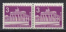 Germany Berlin 1963 Mi 231 Sc 9N120A MNH Pair Brandenburg Gate Tourism