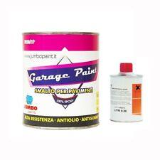 GARAGE PAINT RESINA EPOSSIDICA PER PAVIMENTI A FORTE TRAFFICO,(A+B) KG 5 (MQ 50)