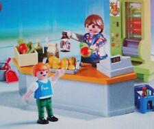 Playmobil -- Pièce de rechange -- Boutique et matériel entretien 4327 --