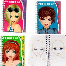 Girls Fashion- Me Style me Hair Design Book  Make-up Fun Creative Activity Book