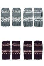 TOPSHOP Scandi Fairisle Handwarmers Gloves Mittens BNWT FREE P&P (MCH)