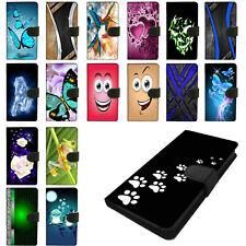 Für Samsung Galaxy S7 Schutz Hülle Handy Tasche Flip Case Cover 2SEITEN Motiv