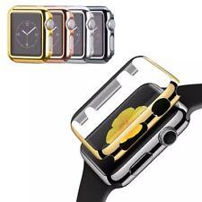 Für Apple Watch 1 2 3 4 Ultra-Thin Schutz Hülle Cover Case Bumper mit Schutzglas