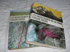 montagnes de la terre,frison-roche,flammarion,2 vol1964