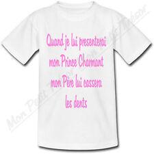 T-shirt Enfant Mon prince charmant - Humour