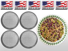 USDA Organic Fat Burner Mix Sprouting Seed & Micro Green Lid Mason Jar 1g-1lb