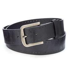 New Tony Hawk Men's Bonded Leather Belt Black 1.5-in Width Orig. Retail $20