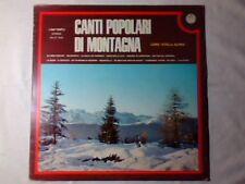 CORO STELLA ALPINA Canti popolari di montagna lp