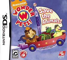 Wonder Pets Save the Animals (Nintendo DS, 2008)
