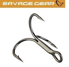 Savage Gear Drillinge Y-Treble Hooks, Drillingshaken für Raubfische, Angelhaken