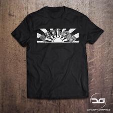 Japonés Rising Sun Kanji a la deriva Sun origen JDM Novedad Coche Camiseta Gran Regalo